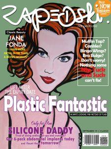 Zapedski Limited Collectible News Propaganda Print o Plastic Surgery featuring JaneFonda